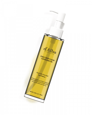 D'Alba Daily Deep Cleansing Oil 100ml