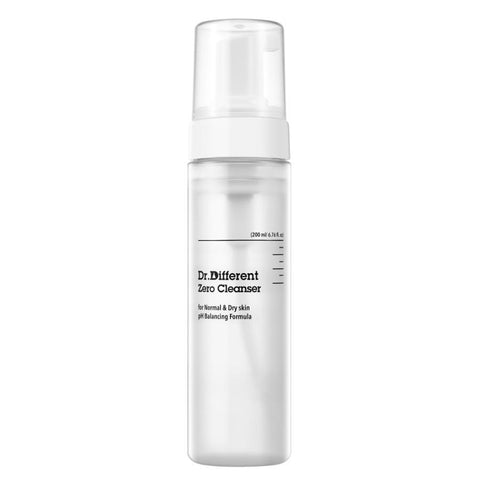 [Dr.Different] Zero Cleanser (for normal and dry skin) 200ml