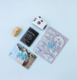[I'm Sorry For My Skin] 8 Step Travel Jelly Mask (4ea)