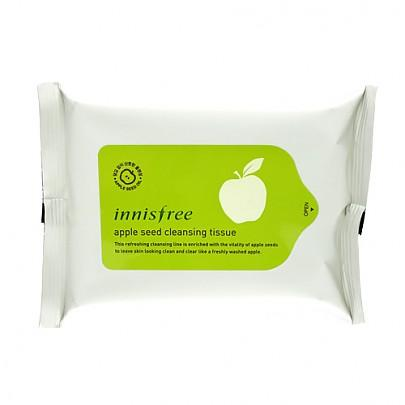 [Innisfree] Apple Seed Cleansing Tissue (15 sheets)