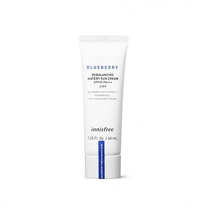 [Innisfree] Blueberry Re-balancing Watery Sun Cream 40ml