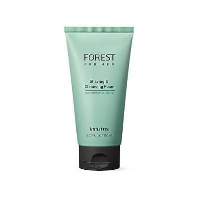[Innisfree] Forest for men Shaving & Cleansing foam 150mL