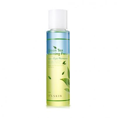 [It's Skin] Green Tea Calming Fresh Lip&Eye remover 125ml