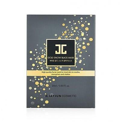 [JAYJUN] Gold Snow Black Mask (5pcs)