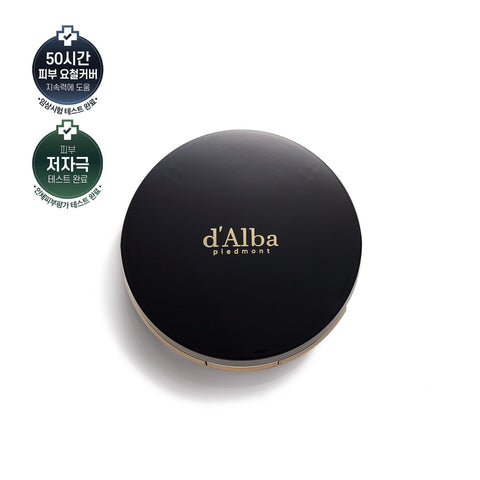D'Alba Noble Grinding Essence Cover Pact 21g(SPF50+)