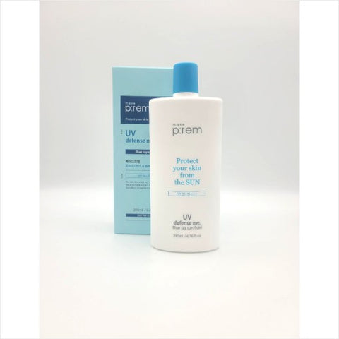 [makep:rem] UV Defense Me Blue Ray Sun Fluid SPF 50+ PA++++ (200ml) 6.76 Fl Oz