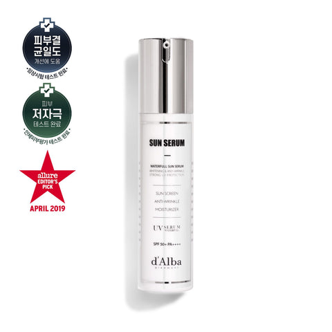 D'Alba Waterful Sun Serum 50ml (50SPF+)