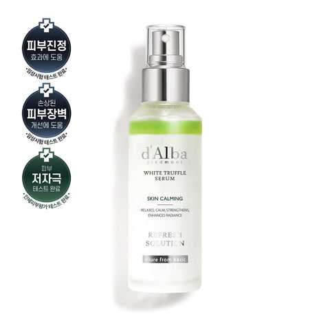 D'Alba White Truffle Refresh Skin Calming Serum 100ml