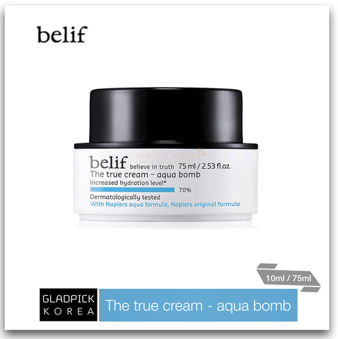 [belif] The True Cream Aqua Bomb 10ml/75ml
