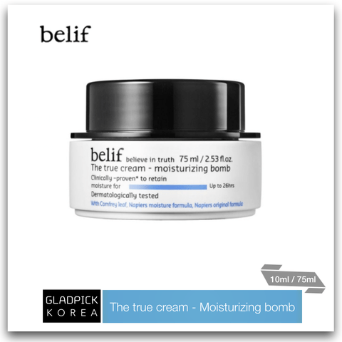 [belif] The True Cream Moisturizing Bomb 10ml/75ml