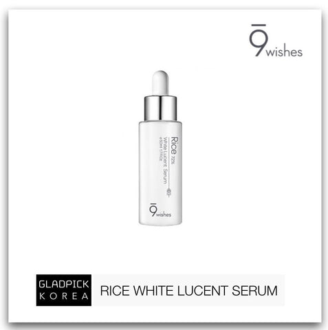 [9wishes] Rice 72% White Lucent Serum 50ml