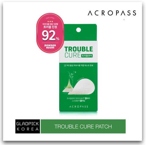 [ACROPASS] Trouble Cure (skin cleanser 6ea+trouble cure 6 patches) for Acne Care