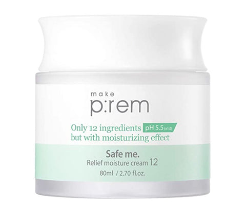 [makep:rem] Safe me. Relief moisture cream 12 (80ml, 2.70 fl.oz)