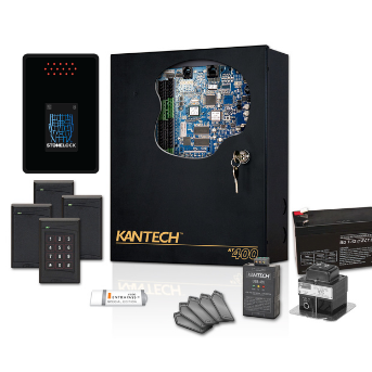 Kantech access control systems with StoneLock facial biometric reader