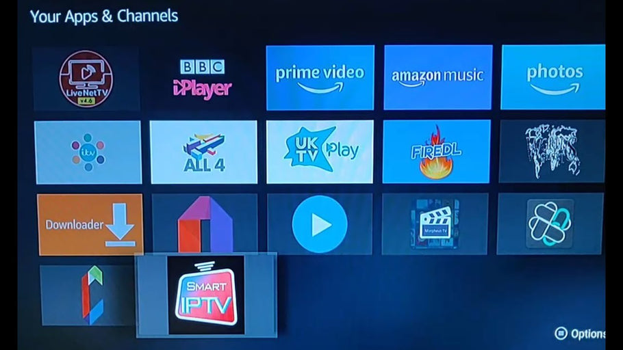 How to Download and install Smart IPTV on your Firestick or FireTV