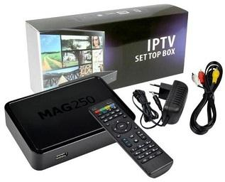How to install an M3U IPTV List to MAG250 BOX