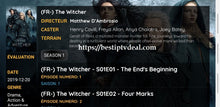 Load image into Gallery viewer, The Witcher all episodes