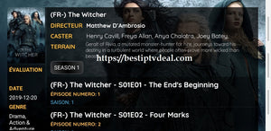 The Witcher all episodes