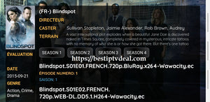 Blindspot series