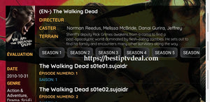 "Best IPTV provider ""The Walking Dead"""