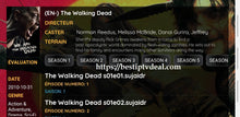 Load image into Gallery viewer, The walking Dead last season