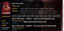 "Load image into Gallery viewer, ""Flash"" season 6 episode 21"