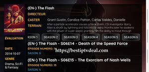 """Flash"" season 6 episode 21"