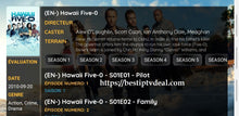 "Load image into Gallery viewer, ""Huwaii Five-0"" All episodes"