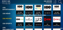 Load image into Gallery viewer, USA live channels HBO Showtime