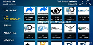 IPTV Discovery National Geographic Animal Planet