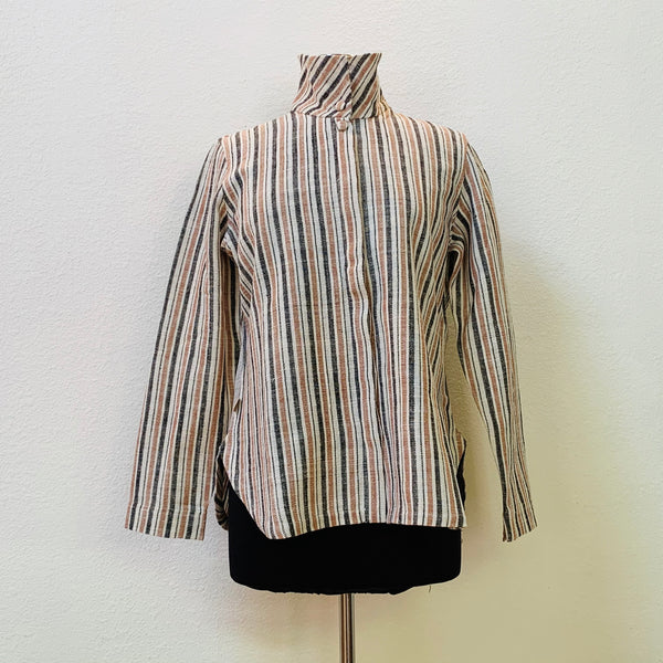 Jacket / Blouse Unisex 2164R 6C - Size 6 - Multi-Colored Stripes