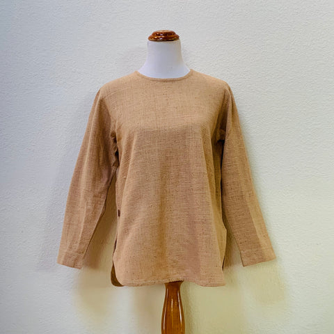 Long Sleeve Shirt 1043I 4A - Size 4 - Beige