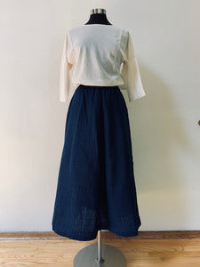 Long Skirt 3228B 2C - Size 2 - Deep Indigo
