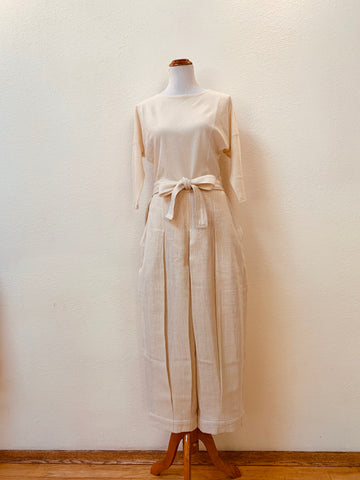 Hakama Pants 3222A 4A - Size 4 - Natural White