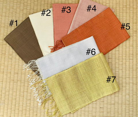 Silk Scarves, Small - Various Colors