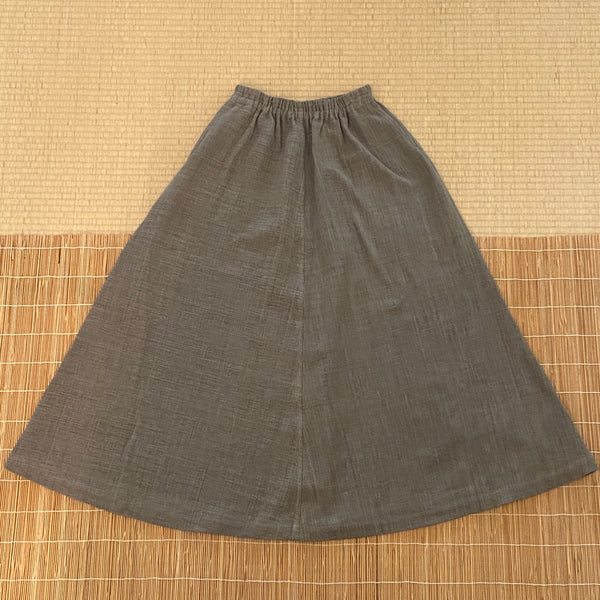Long A-Line Skirt 3228A 4B - Size 4 - Grey