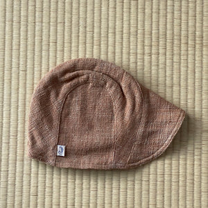 Cap with Front Bill 7086E - Size M - Light Brown