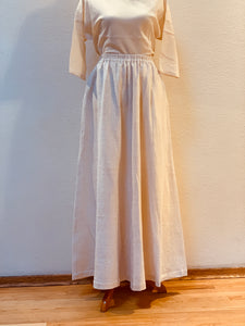 Long Skirt 3228A 8A - Size 8 - White