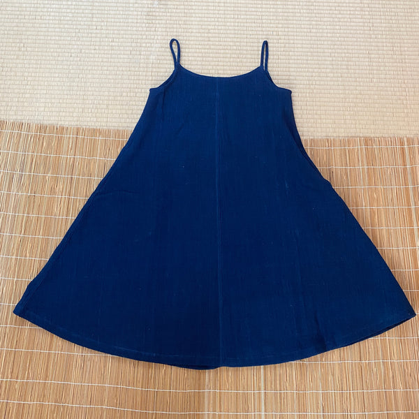 Summer Slip Dress 4289D 4B - Size 4 - Indigo