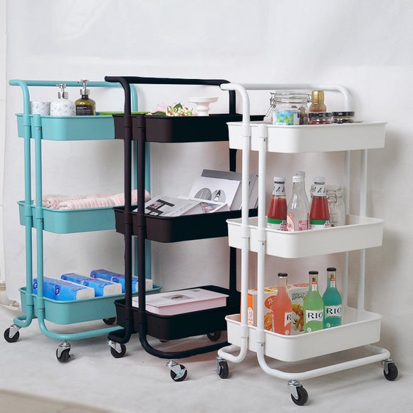 Trolley organizer cart
