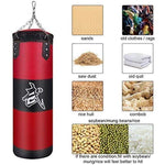Professional Sandbag Punching Bag Training Fitness With Hanging Kick Boxing adults Gym Exercise empty-Heavy boxing bag