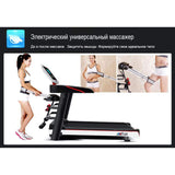 Cross-border factory direct sales treadmill home fitness equipment small folding multi-function mini electric treadmill fitness - UDO FITNESS