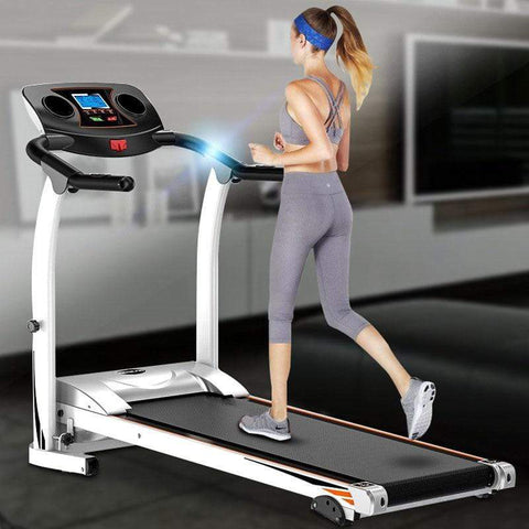 Flat home treadmill gift folding electric treadmill fitness treadmill multi-function fitness equipment