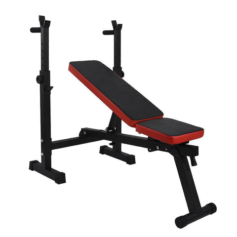 Multifunctional Weight Bench Barbell Rack Weightlifting Bed Folding Barbell Lifting Training Bench Bracket Bench Press Frame
