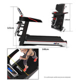 Cross-border factory direct sales treadmill home fitness equipment small folding multi-function mini electric treadmill fitness