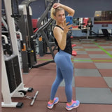 Women Leggings Fitness Push Up Leggings Gym Breathable High Waist Workout Legins Mujer