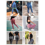 Women Leggings Fitness Push Up Leggings Gym Breathable High Waist Workout Legins Mujer - UDO FITNESS