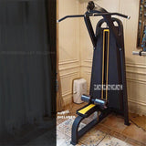 1604 Commercial Lat Machine Back Muscle Trainer Steel Pipe Indoor Gym Sitting Position Lat Pull Down Training Fitness Equipment