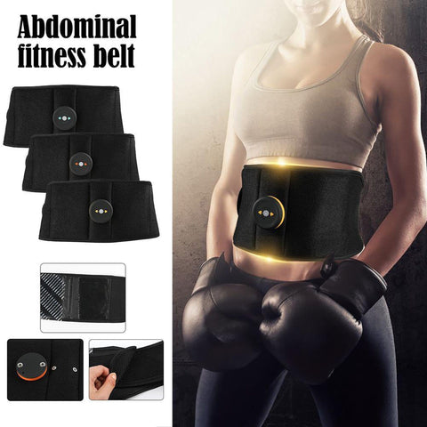 Intelligent EMS Abdominal Trainer Wireless Fitness Equipment Rechargeable Home Fitness Belt Massage Belt - UDO FITNESS
