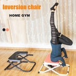 Foldable Yoga Chair Inversion Bench Therapy Exercise Fitness Stool Prop Household Upside Down Workout Device Inverted Machine